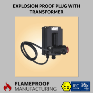 Explosion Proof Plug with Transformer CZ0555/