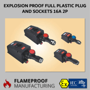 Full Plastic Explosion Proof Plug and Sockets 16A 2P CZ0521